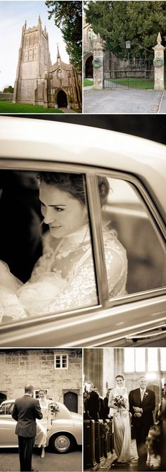 There will be no shortage of classic   cars at our wedding!