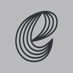 The letter e. This is the part of a letter series done by Zachary Spurling # letter Letter Form, Letter E, Type Design, Graphic Design, Hand Lettering, Typography, Letterpress, Letterpress Printing, Handwriting