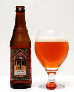 New Belgium Brewing - Mighty Arrow Pale Ale (#346) (A-) - a very good pale ale.