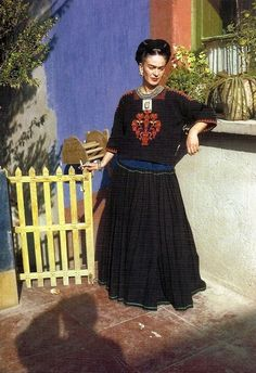 Frida Kahlo by Florence Arquin, 1951