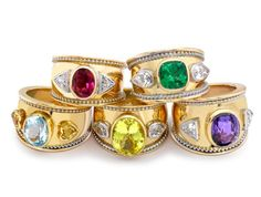 The Famous Bombe Rings  www.theofennell.com