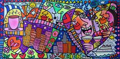 James Rizzi : The heart of my big apple