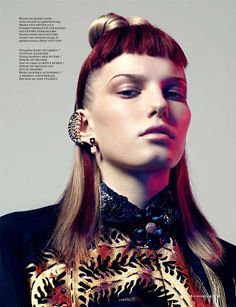 Androgynous Accessory Editorials - The 'Tragically You' Kenton Magazine Fashion Story is Retro-Infus (GALLERY)