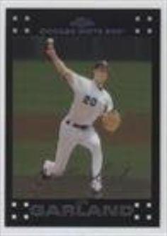 Jon Garland (Baseball Card) 2007 Topps Chrome #135 - Brought to you by Avarsha.com