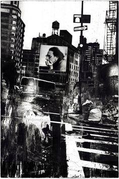 "Saatchi Online Artist: Michael Goro; Etching 1998 Printmaking ""NY"""