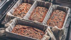 Wunderbrot: Rezept ohne Mehl und Hefe Easy Bake Ultimate Oven, Easy Bake Oven, Low Carb Bread, Low Carb Keto, Vegan Baking, Bread Baking, Sparkle Cake, Flour Bakery, Bread Oven
