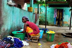 Washing day -Senegal