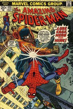 Resultado de imagem para hq homem aranha contra luke cage