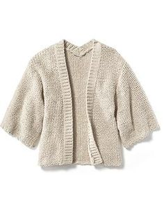 Textured-Knit Kimono Sweater | Old Navy