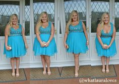 f12ea0e9815 What Laura Loves  WhatLauraWore  Turquoise Darling