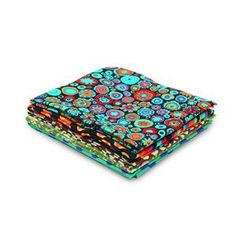 Kaffe Fassett Green 3 Fat Quarter Pack 5pce  image Textile Artists, Fat Quarters, Zip Around Wallet, Fabric, Bags, Color, Green, Style, Tejido
