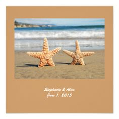 $$$ This is great for          Starfish Couple On The Beach Wedding Invitation           Starfish Couple On The Beach Wedding Invitation Yes I can say you are on right site we just collected best shopping store that haveHow to          Starfish Couple On The Beach Wedding Invitation today e...Cleck Hot Deals >>> http://www.zazzle.com/starfish_couple_on_the_beach_wedding_invitation-161166220565750330?rf=238627982471231924&zbar=1&tc=terrest