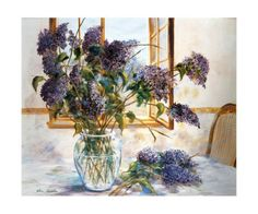 The Smell of Lilacs Art Print at AllPosters.com