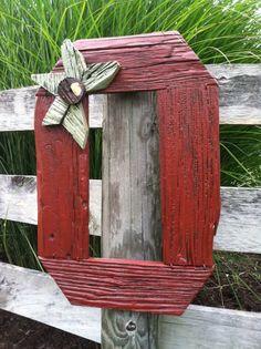 Repurposed Barn Wood Block O Buckeye Sign by RustedFinchRoad, $55.00