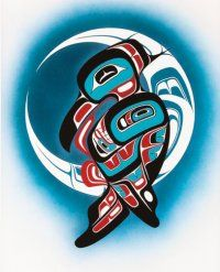 Native American Art Seattle : Explore the historic chapters of tribal community in century through Native American artworks from Native Fine Art in Seattle. We are a renowned gallery showcasing museum quality Northwest Native and Inuit artwork for col Haida Kunst, Inuit Kunst, Arte Haida, Haida Art, Inuit Art, Arte Tribal, Tribal Art, Haida Tattoo, Indian Artwork