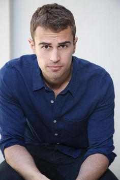 "Omg! Isn't that the face Flynn Rider in Disneys tangled uses? The ""smolder""?!?!? Haha, I'm dying here!!!! Go Theo!!! Hahah"