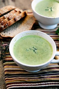 Broccoli Spinach Soup // Simple Bites #vegetarian #detox #recipe