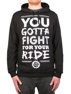"""Fight Right Hoody [black] *** IRIEDAILY """"Fight for your Ride"""" - Early Fall 2015 Collection OUT NOW: http://www.iriedaily.de/blog/iriedaily-early-fall-2015-collection-out-now-2/"""