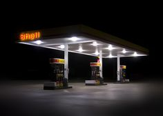 gas station, weird..absolutely!