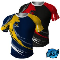 Reversible Rugby Shirts UK manufactured by Scorpion Sports in junior and senior… Rugby Shirts, Football Shirts, Taekwondo, Sport Wear, Sport T Shirt, Cricket T Shirt, Karate, Sublime Shirt, Soccer Uniforms