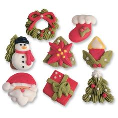 #3391 Christmas sugar set, large