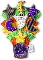 Cookies 'N Cream: Halloween Cookie Bouquets