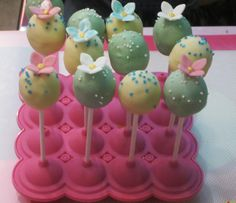Sweet Cakepops made with Silikomart