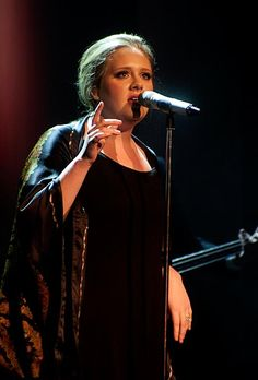 Photo Abe Tarrush    Adele performs at the Olympia Theatre In Dublin, Ireland on April 12, 2011
