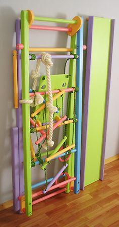 Детский спортивный комплекс Кроша-1 для дома. Купить детский спортивный комплекс