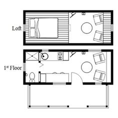 humblebee porch tiny house plans with side entrance photo