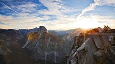 Yosemite National Park is in eastern California, and behind Yellowstone, is probably the best known of the 59. Its founding was in large part due to the efforts of John Muir and the Sierra Club.