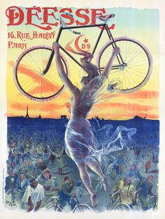 Déesse Bicycle Poster