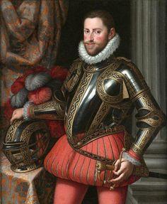 Portrait de l'archiduc Ernst d'Autriche, vers 1580 Martino Rota