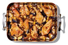 NYT Cooking: This rich, delicious roast uses the broth from rehydrated mushrooms for extra flavor. Porcinis aren't a necessity, but pick some up if you can. You'll be glad you did. Pair this with a nice salad and the leftover wine for an excellent evening.