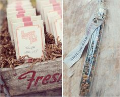 Tea as wedding favours for your guests