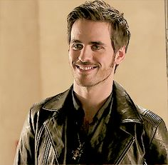 Killian on his 1sy date with Emma