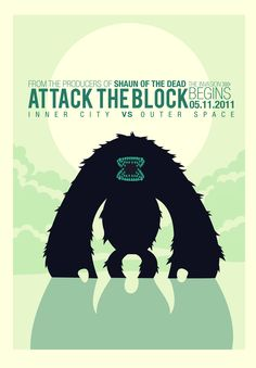 Attack the Block poster!