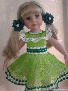 Платье ручной работы для кукол Ханна (Сара) Готц , Одри Сой Ту (Паола Рейна), Белла (Антонио Хуан) / Одежда для кукол / Шопик. Продать купить куклу / Бэйбики. Куклы фото. Одежда для кукол