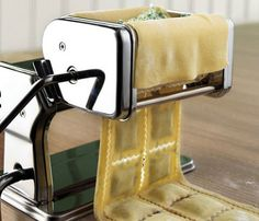 A Lakeland pasta machine with ravioli maker addition for daily use, and special occasions.
