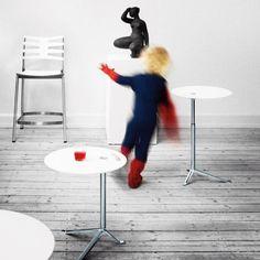 Kasper Salto Little Friend Table by Fritz Hansen: http://www.danishdesignstore.com/products/fritz-hansen-little-friend-table