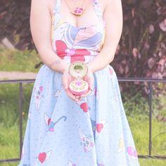Robe Sailor Moon style vintage à volants : Robe par laetylovelylocks