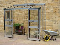 Eden Broadway Lean to Greenhouse with toughened glazing. Buy online now at the best UK prices and free delivery.