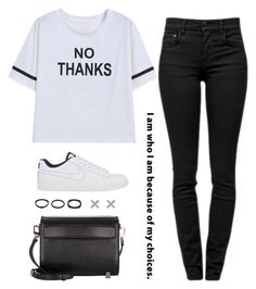 """""""Nope..."""" by maddkat ❤ liked on Polyvore"""