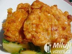 Čínské řízečky Czech Recipes, Ethnic Recipes, Food 52, Cauliflower, Macaroni And Cheese, Chicken Recipes, Good Food, Food And Drink, Cooking Recipes