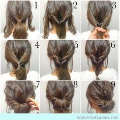 Simple-and-pretty-updo-tutorial.jpg 474×474 pixels