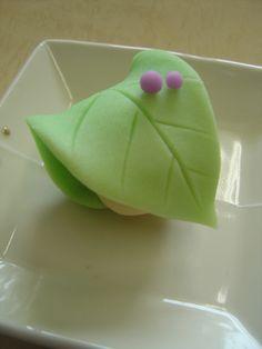 上生菓子も 『もう 秋です!