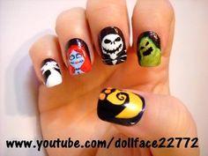 Nail Art / Jack & Friends - Halloween - Nail Art Gallery by NAILS Magazine