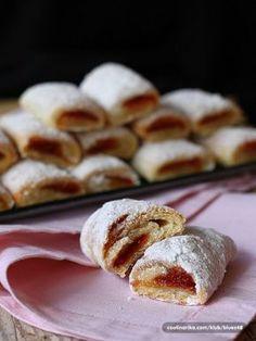 Gourmet Recipes, Sweet Recipes, Cookie Recipes, Dessert Recipes, Bosnian Recipes, Croatian Recipes, Macedonian Food, Kolaci I Torte, Bread And Pastries