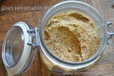 Picante mostaza de rábano picante