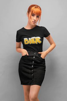 Fendi High Fashion T-Shirt Classic women's round neck t-shirt. semi-combed Ringspun cotton Reinforcing tape on neck Elastane rib collar 150 gsm Marathon, Bermuda Shorts Outfit, Half Sleeve Women, Crop Top Outfits, Casual Tops For Women, Pullover, Cute Skirts, Sport, Cute Tops